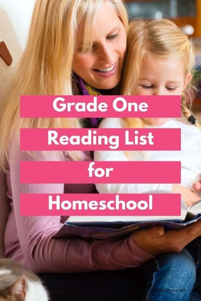 1st Grade Reading List for Homeschool