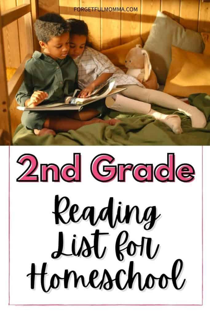 2nd Grade Reading List for Homeschool
