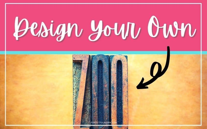 Design Your Own Zoo