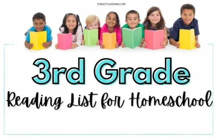 3rd Grade Reading List for Homeschool