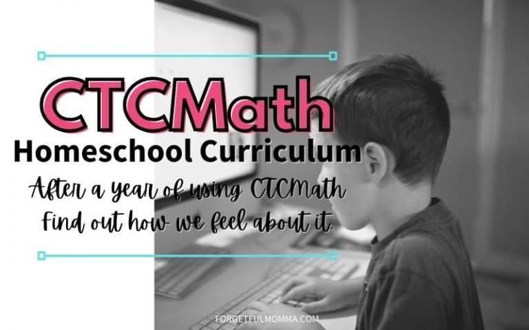 CTCMath Homeschool Curriculum Review