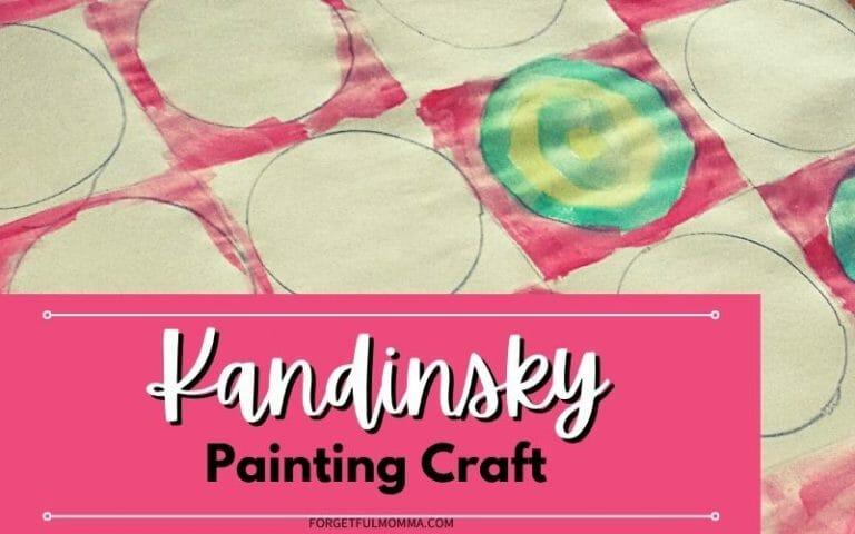 Kandinsky Painting Craft