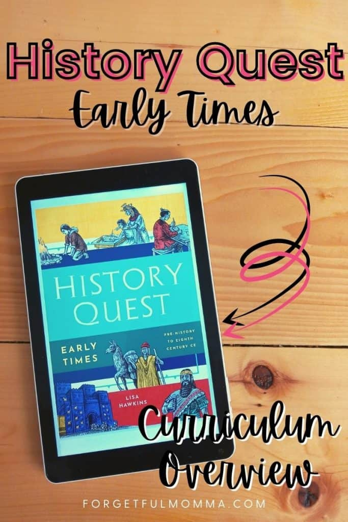 History Quest Early Times - Curriculum Overview