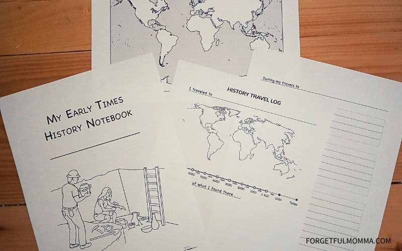 History Quest Early Times - Curriculum Overview notebook