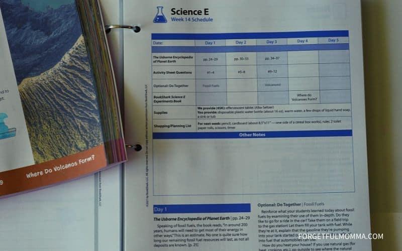 BookShark Science Level E Review - IG