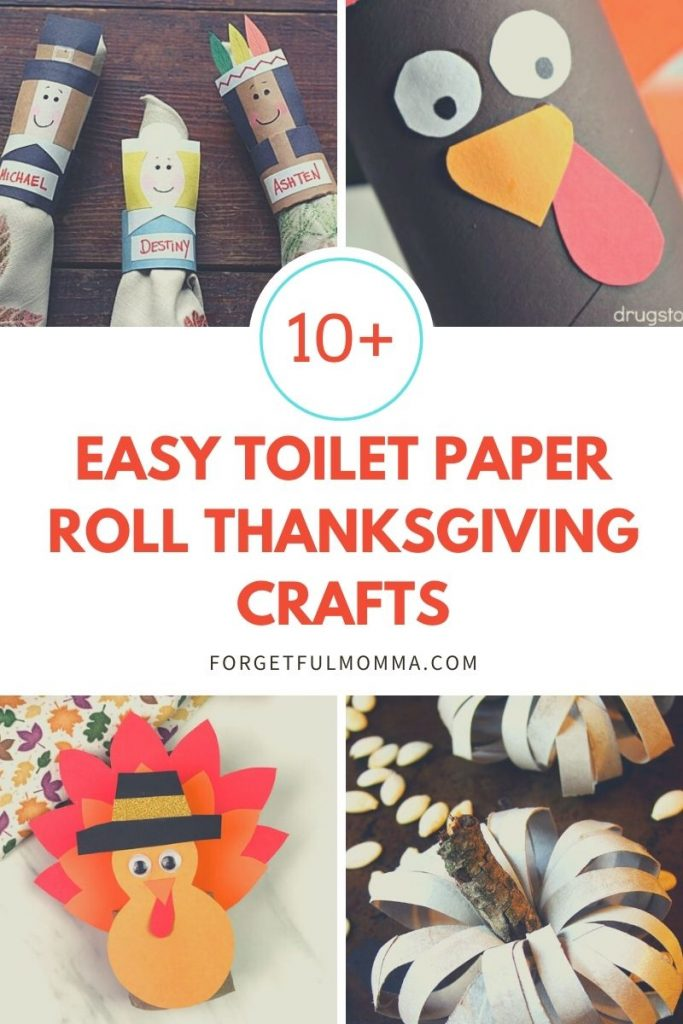 Easy Toilet Paper Roll Thanksgiving Crafts