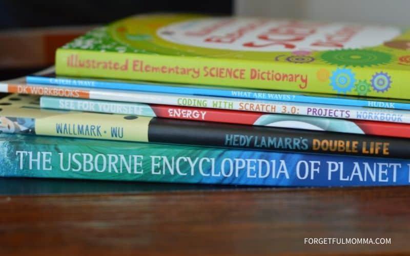 BookShark Science Level E Review - books