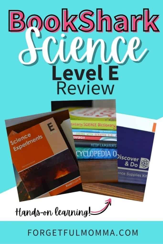 BookShark Science Level E Review
