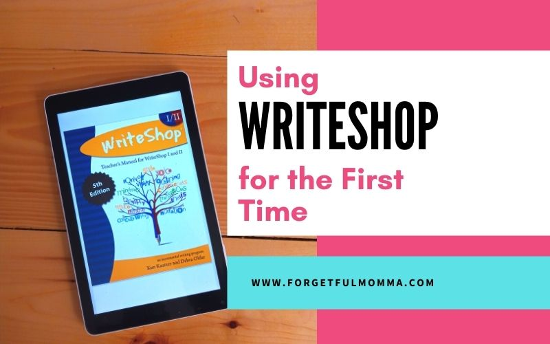 Using WriteShop Curriculum for the First Time