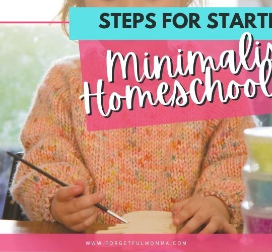 6 Steps for Starting Minimalist Homeschooling