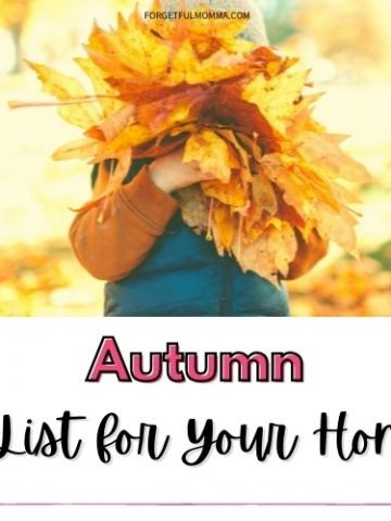 Autumn Bucket List for Your Homeschool