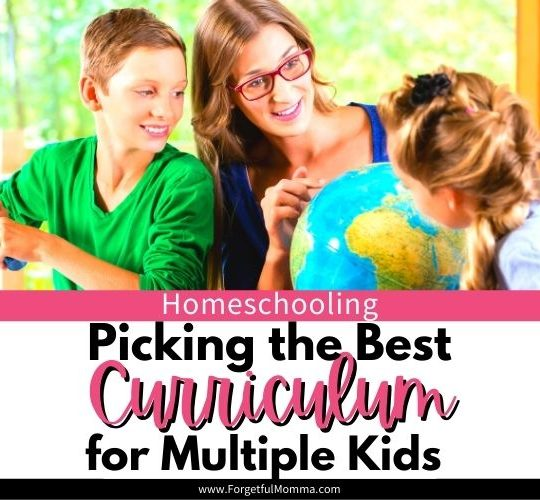 Picking the Best Curriculum for Multiple Kids